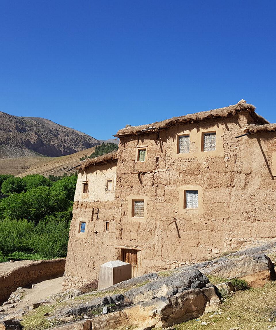 traditionelles Wohnhaus im Ait Bouguemez
