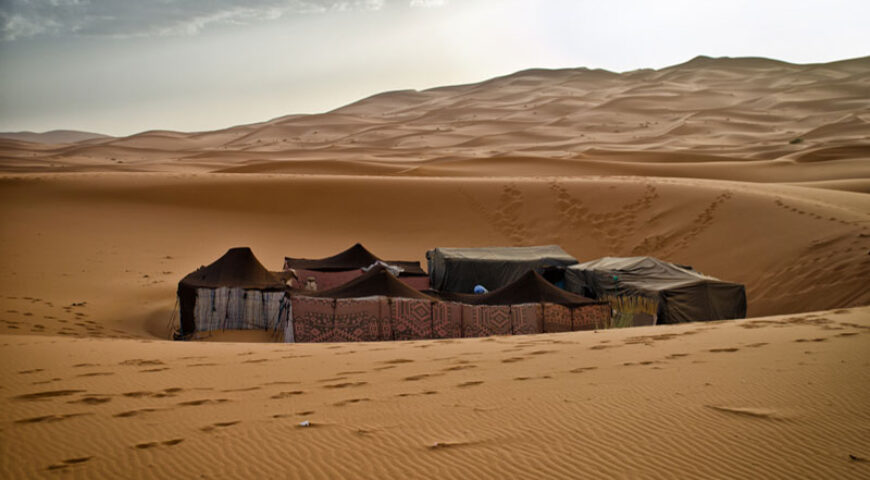 Camp im Erg Chebbi