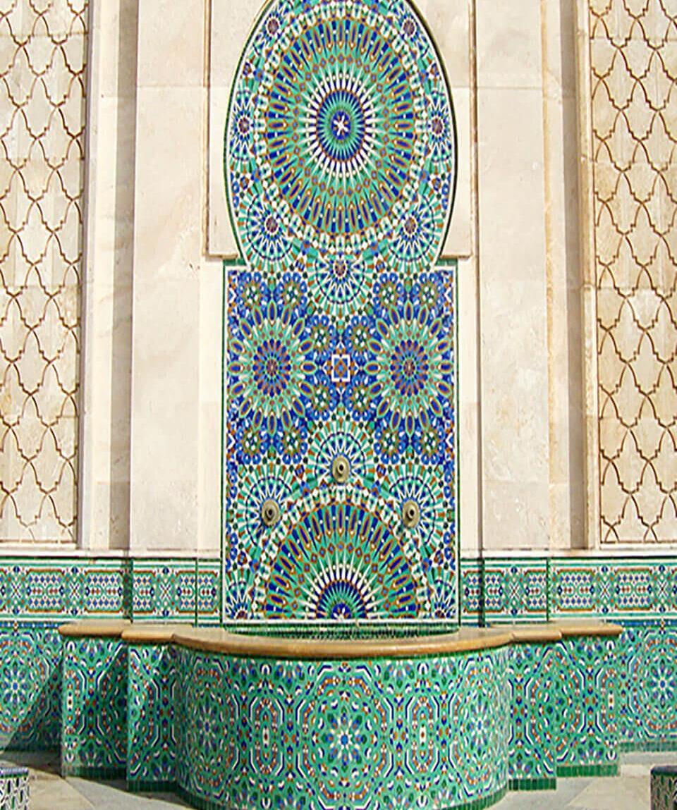 Moschee Hassan II. in Casablanca