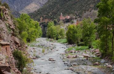 Dorf im hinteren Ourika Tal