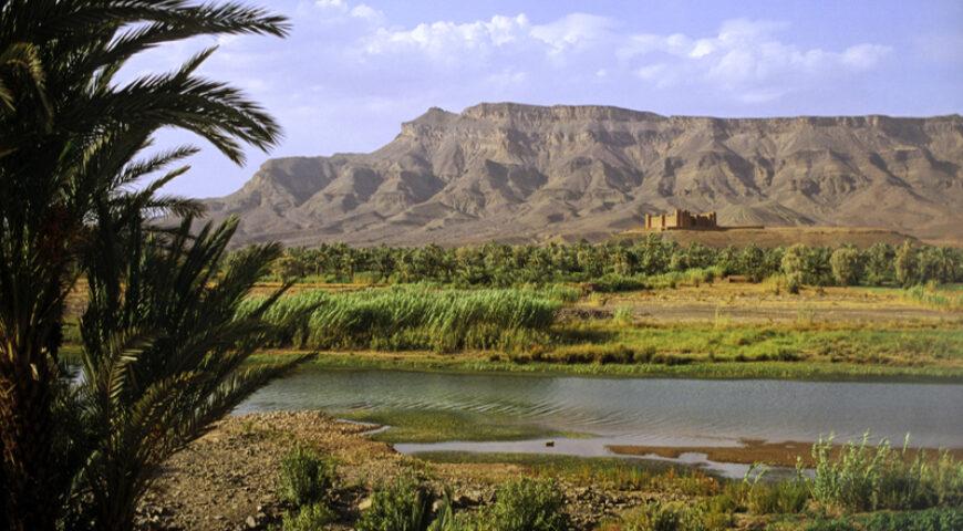 Kasbah im Draatal nahe Agdz
