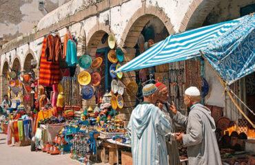 Souk in der Medina von Essaouira