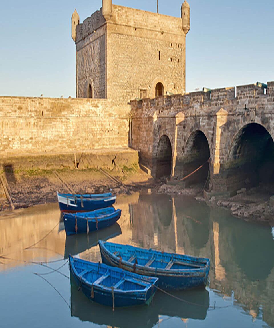 Bastion am Hafen von Essaouira