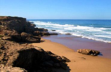 am Strand von Essaouira