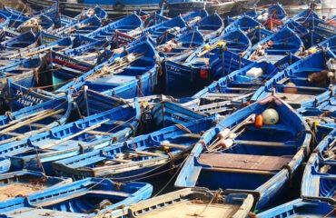 Blau – die Farbe von Essaouira