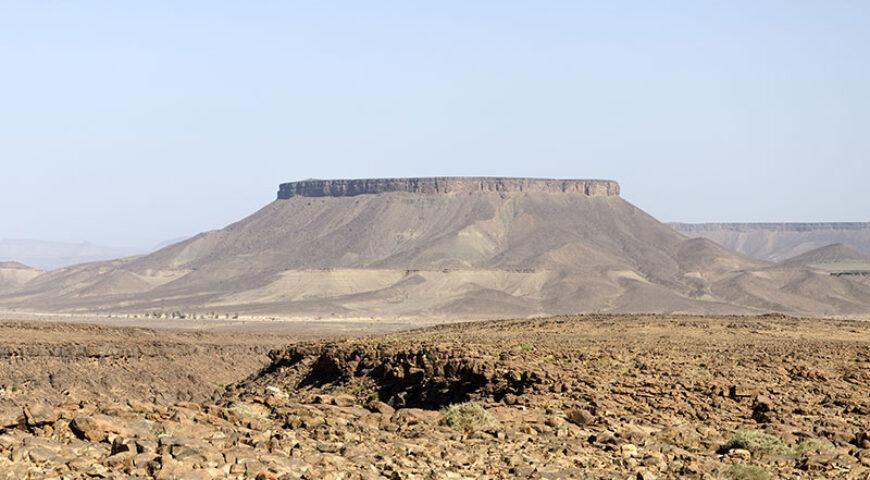 Hamada im Draa-Tal