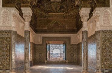 Saal in der Kasbah Telouet