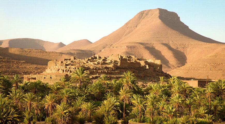 Kasbah im Draa-Tal