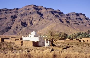 Marabout im Draa-Tal