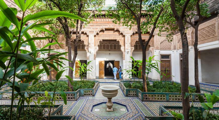 Bahia Palast in Marrakech