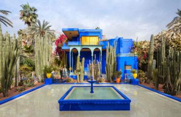 im Jardin Majorelle in Marrakech