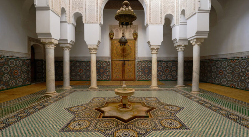 Mausoleum Moulay Ismail in Meknes