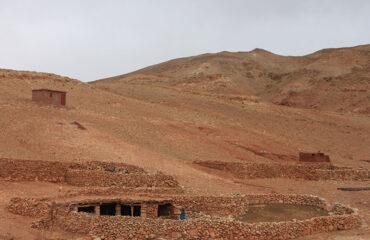 Nomaden-Winterlagen im Ounila-Tal