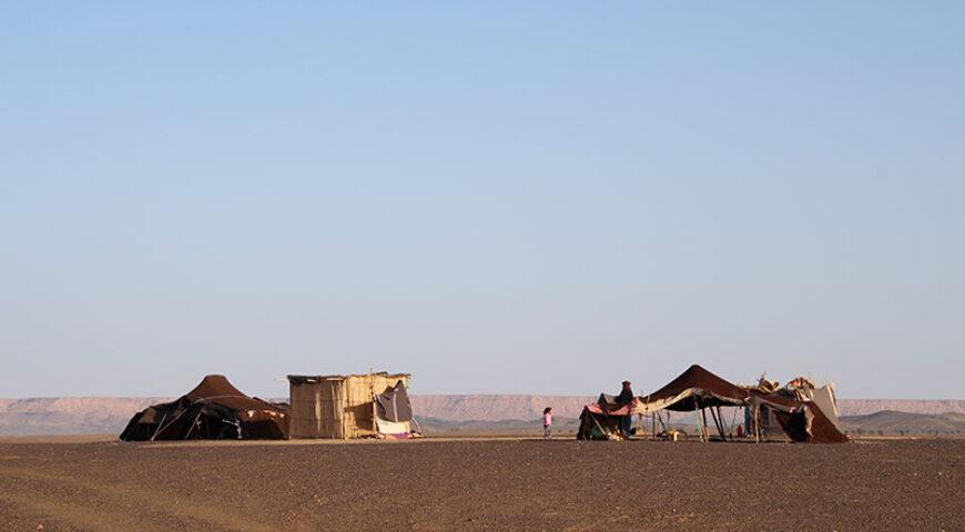 Nomadenzelte im Erg Chebbi