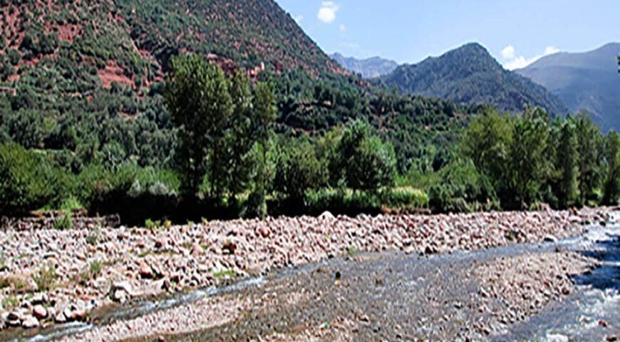 am Ourika-Fluss
