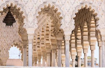 Mausoleum Mohammed V. in Rabat