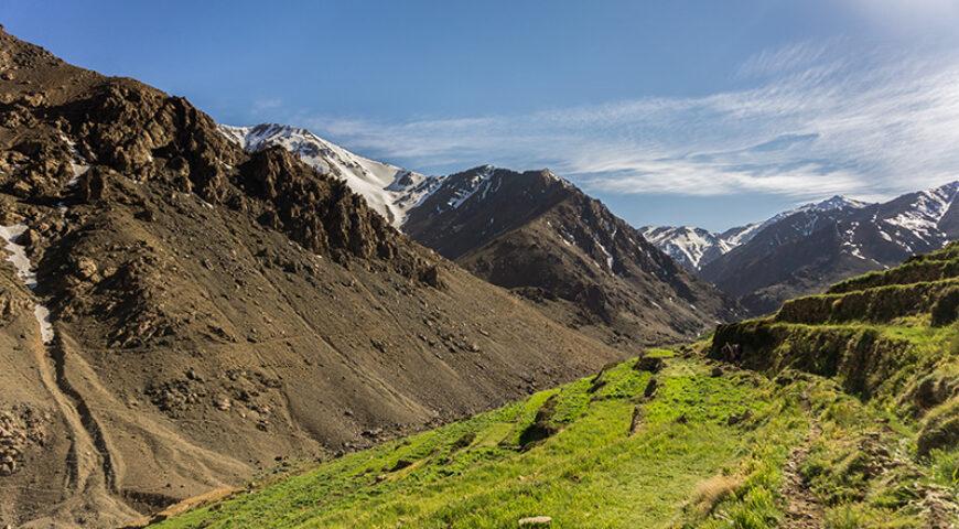 Alpweide Likemt im Toubkal-Gebirge