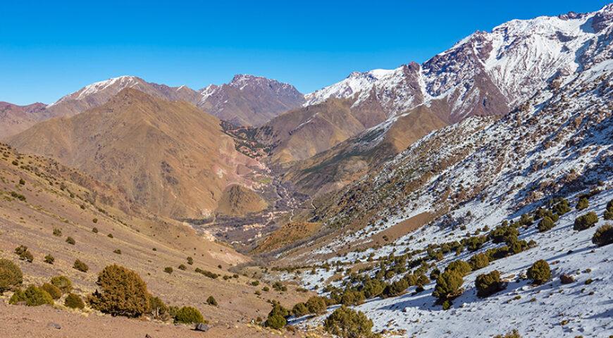 Trekking im Toubkal-Massiv
