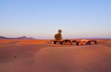 Camp in den Dünen des Erg Chegaga