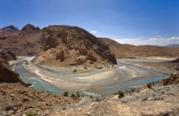 Flussbogen im Ziz-Tal