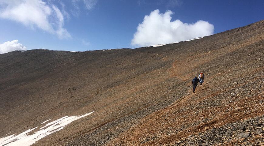 nicht mehr weit zum Gipfel des M'Goun