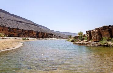 Flussabschnitt im Draatal