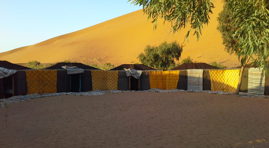 Zeltlager im Erg-Chebbi