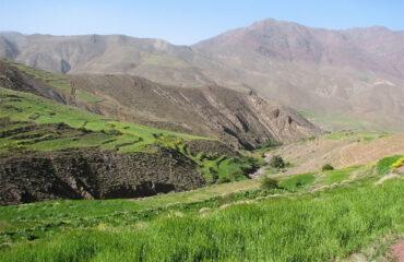 Saftige Bergwiesen im Hohen Atlas
