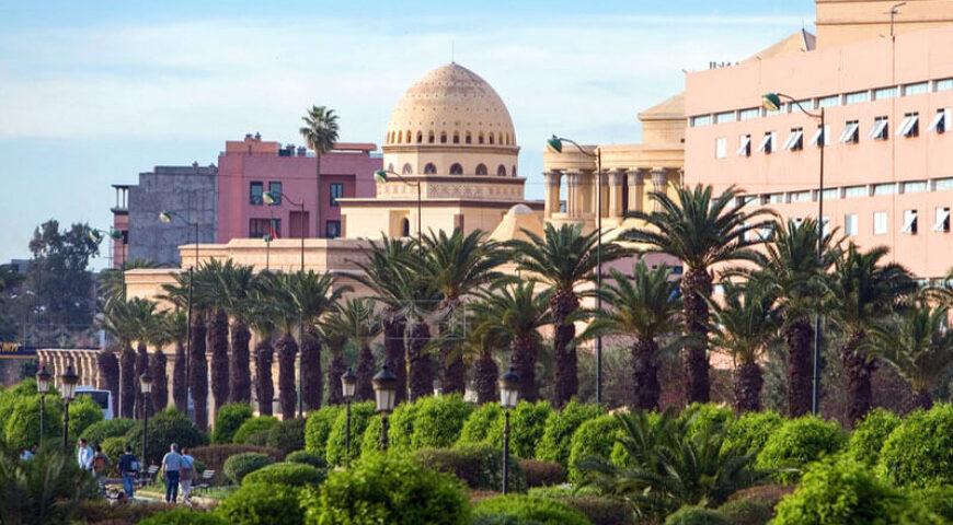 königliches Theater in Marrakech