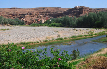 Tal der Rosen – M'Goun-Fluss